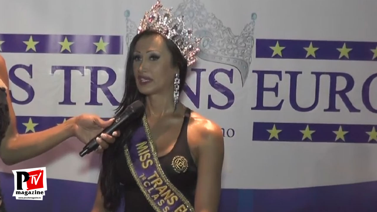 Intervista a Fabiana Alves al Miss Trans Europa 2017