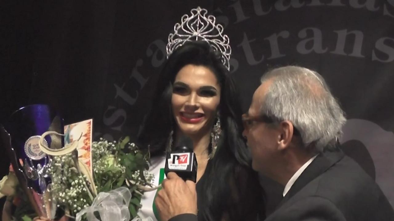 Intervista a Valentina Melo al Miss Trans Italia Sudamerica 2017