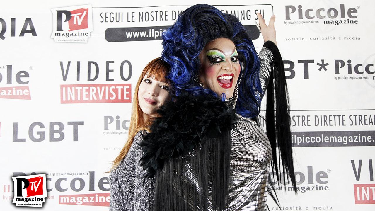 Intervista a Emilia LoMagna, componente dell'Asi@ Drag Queen Show