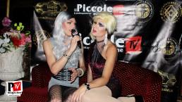 Intervista a Lady Vesuvia al compleanno di Sebille Garcia e Anna Lopez