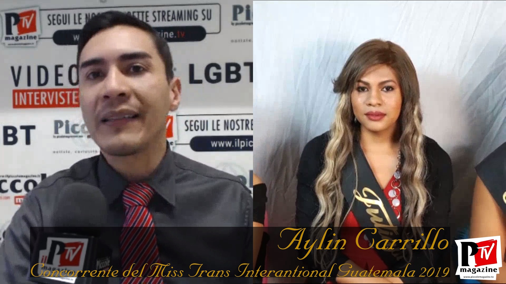 Entrevista a Aylin Carrillo, participante en el concurso Miss Trans International Guatemala 2019