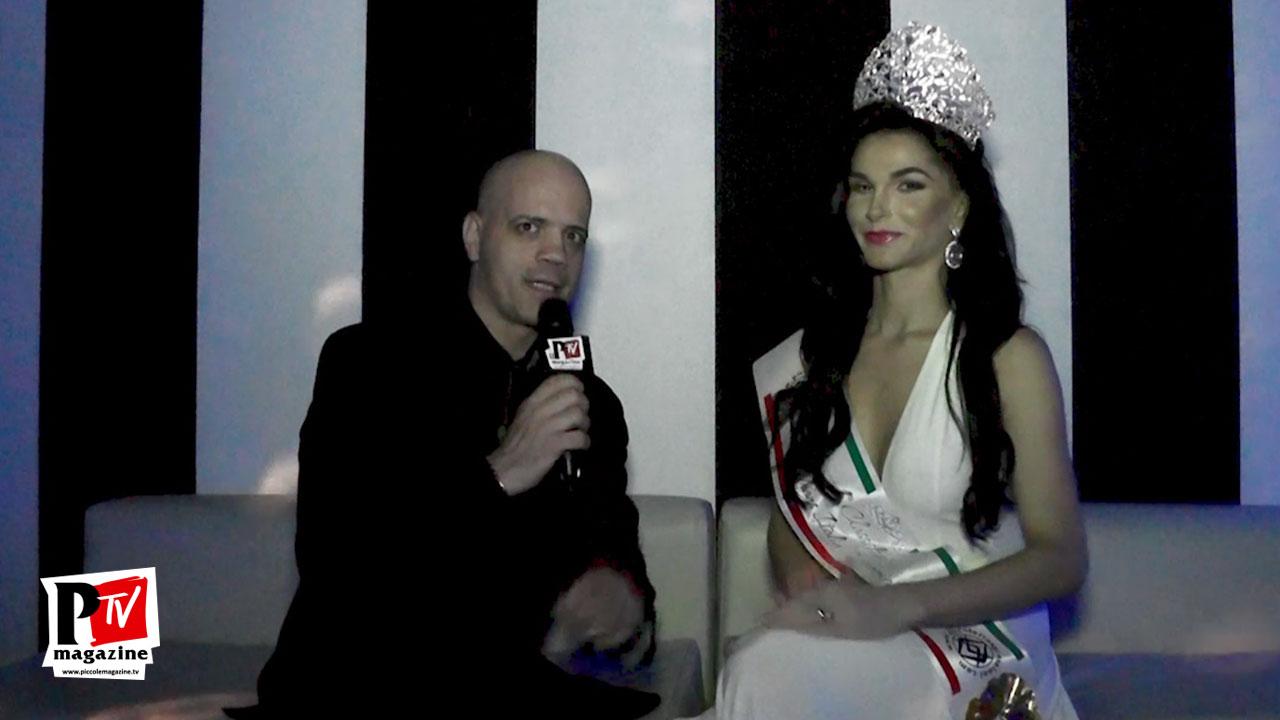 Intervista a Valentina Melo vincitrice del Miss Trans Italia SudAmerica 2017 all'evento Divas