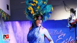 Spettacolo Cristal al Miss Trans Estate 2018