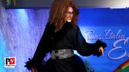 Spettacolo Pavona al Miss Trans Estate 2018